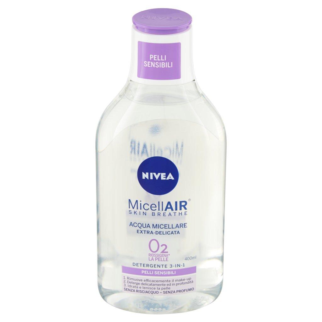 Nivea Micellair Skin Breathe Acqua Micellare Extra-delicata Detergente 3-in-1