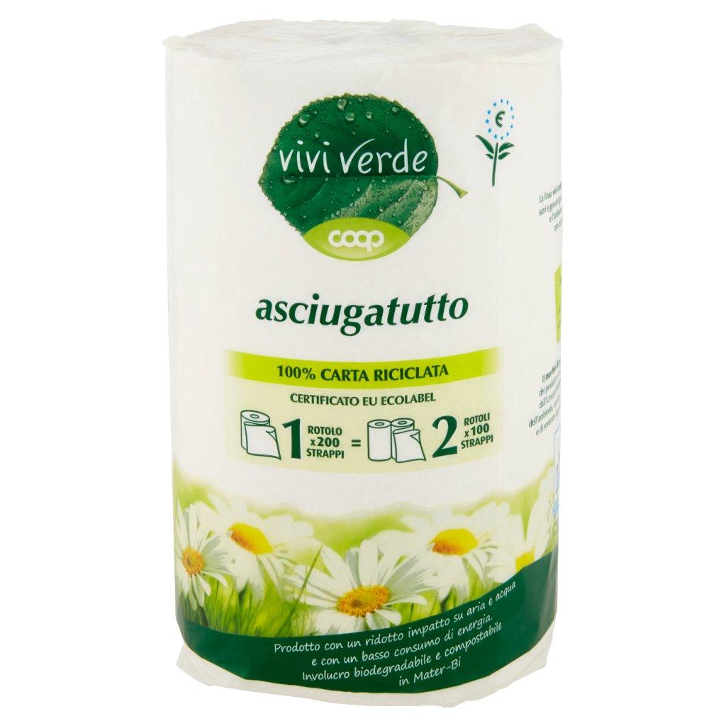 Vivi Verde Asciugatutto Maxi Rotolo 1 Pz