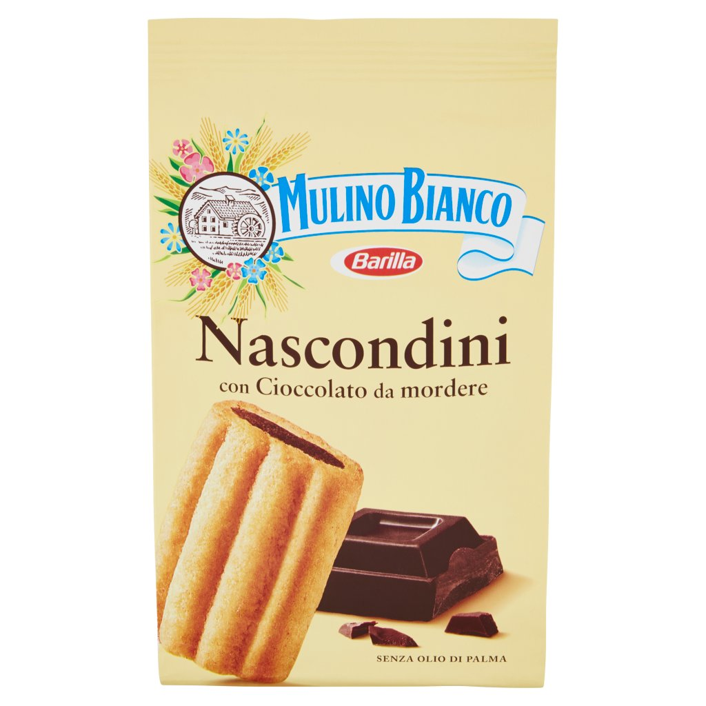 Mulino Bianco Nascondini con Cioccolato da Mordere