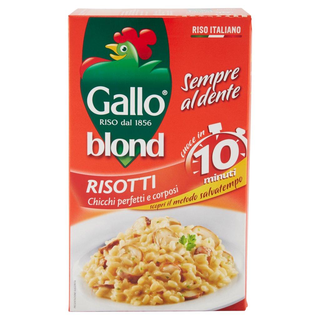 Gallo Blond 10 Minuti Risotti