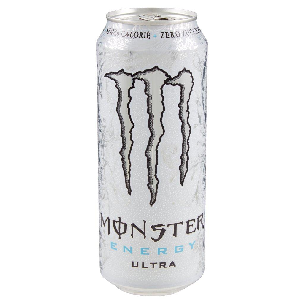 Monster Energy Zero Ultra White