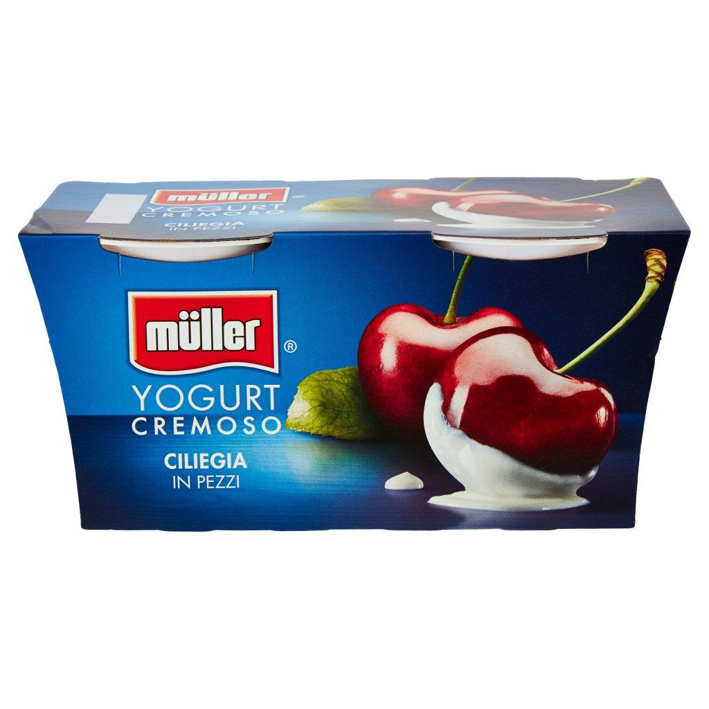 Müller Yogurt Cremoso Ciliegia in Pezzi