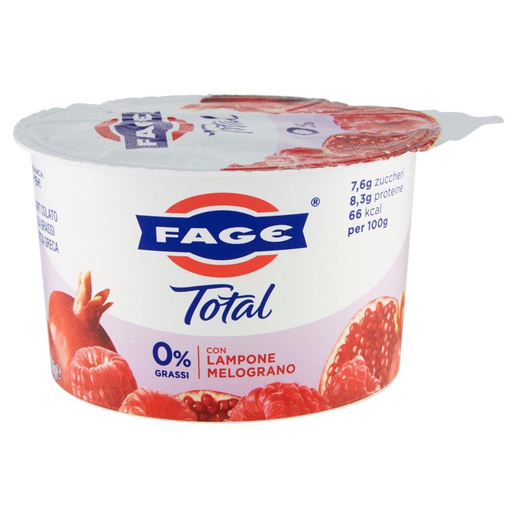 Fage Total 0% Grassi con Lampone Melograno