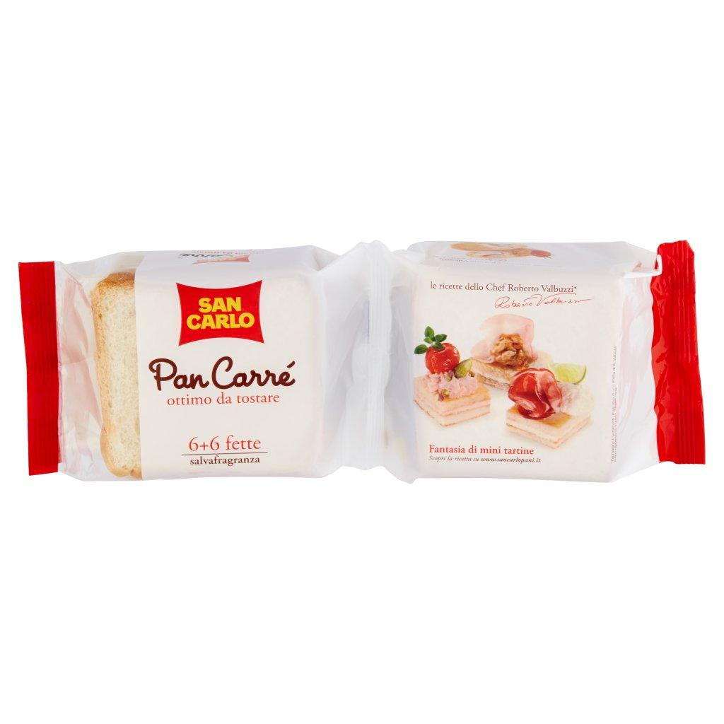 San Carlo Pan Carrè 6 + 6 Fette