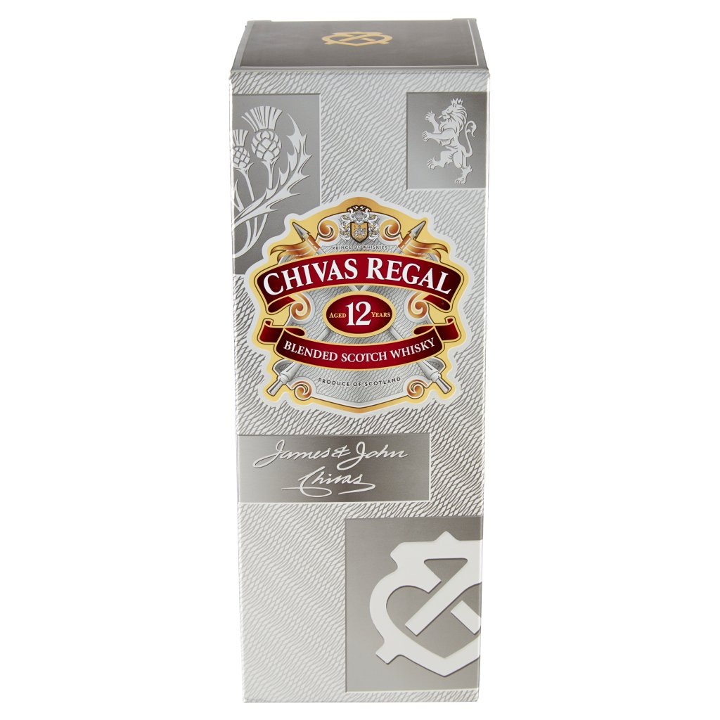 Chivas Regal 12 Years Old Blended Scotch Whisky