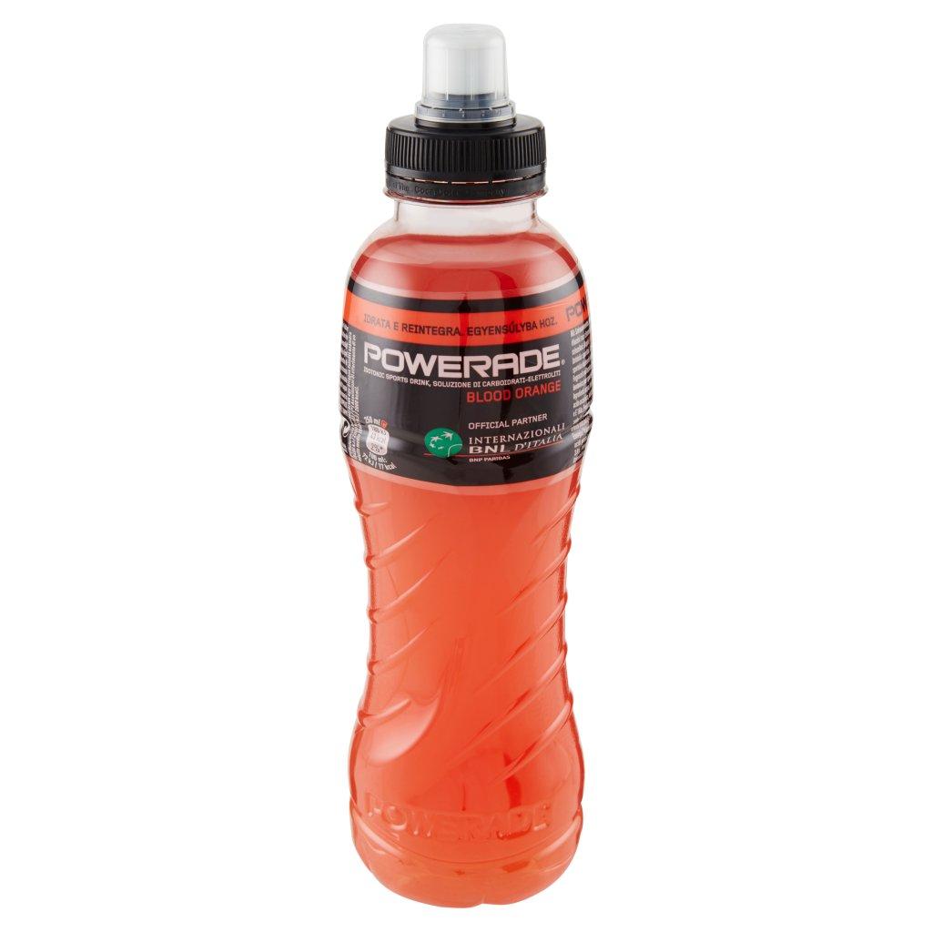 Powerade Sport Drink Gusto Arancia Rossa