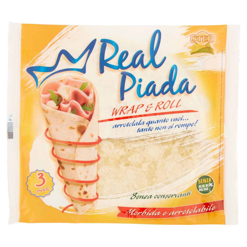 Ster Real Piada Wrap & Roll